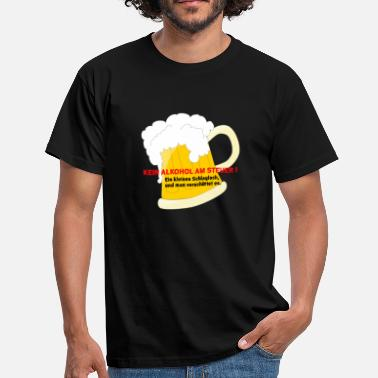 Taxe Man No alcohol tax - Men's T-Shirt