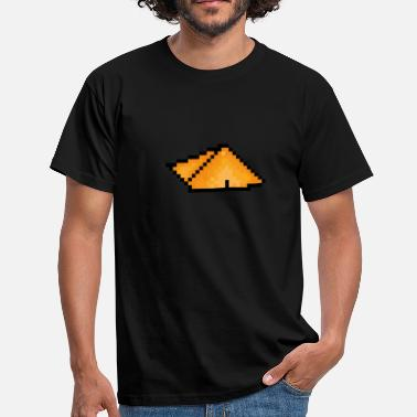 Land Art Pyramide Pixel Art - T-shirt Homme