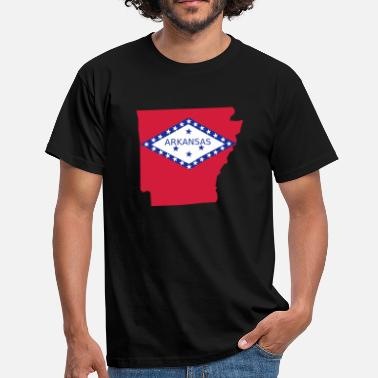 Arkansas Arkansas - T-shirt herr