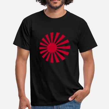 Sun Rising Sun Circular - Men's T-Shirt
