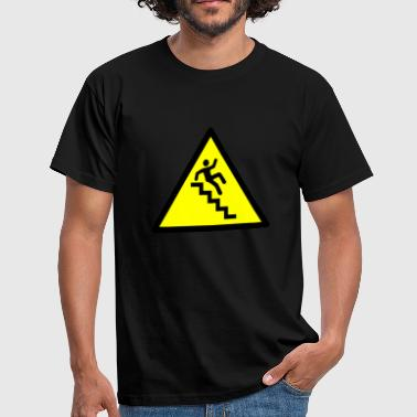 Escaliers Attention - T-shirt Homme