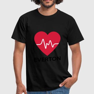 heart Everton - Men's T-Shirt