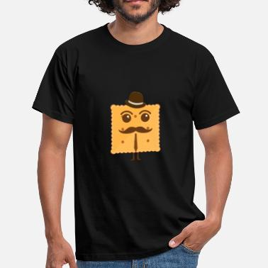 Connoisseur Butter biscuit biscuit gift idea - Men's T-Shirt