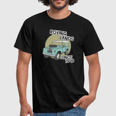 Land Landy Landie Roving Lands 4x4 Offroad - Männer T-Shirt