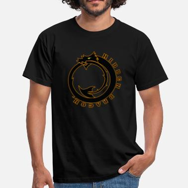 Hidden Message Hidden DRAGON - Men's T-Shirt