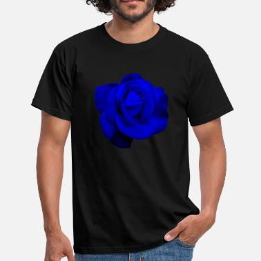 Rose Blue Blue Rose - Men's T-Shirt