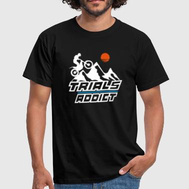 trials addict - Männer T-Shirt