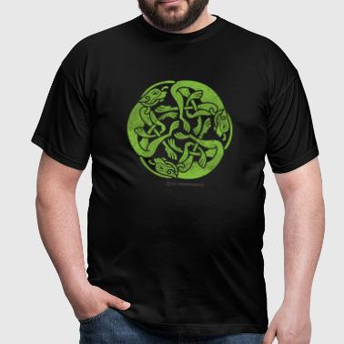 Irland-Shirt Celtic Wolfhounds - Männer T-Shirt