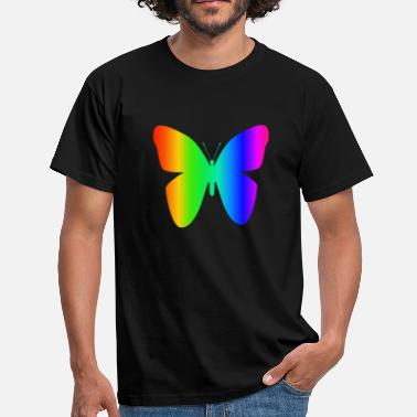 Rainbow Butterfly Rainbow Butterfly - Men's T-Shirt
