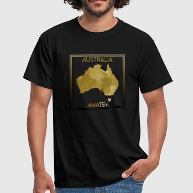 Outback Australie Backpacker Work & Travel Gift - T-shirt Homme