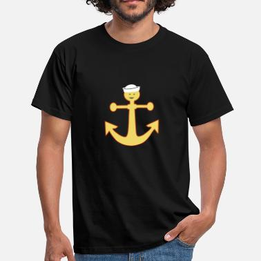 Anker Lustig LUSTIGES ANKER SHIRT MIT SMILEY - Männer T-Shirt