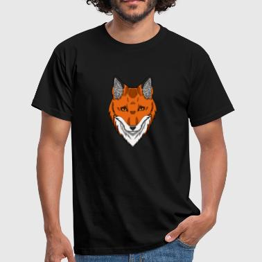 Vegan Fox Fox's head - Men's T-Shirt