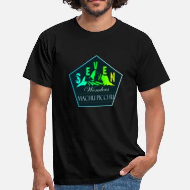 Machu Picchu Machu Picchu (Seven Wonders) - Men's T-Shirt