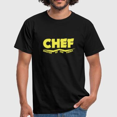chef master of the firma - Männer T-Shirt