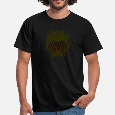Bronze Skull Bronze - Men's T-Shirt