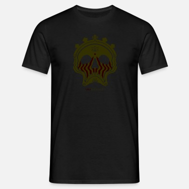Bronzing Skull Bronze - Men's T-Shirt