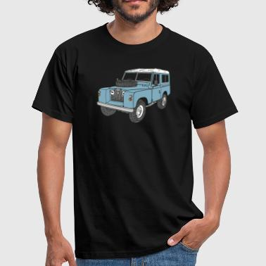 Landy Land Rover Series2a 4x4 Off-Road - T-shirt Homme