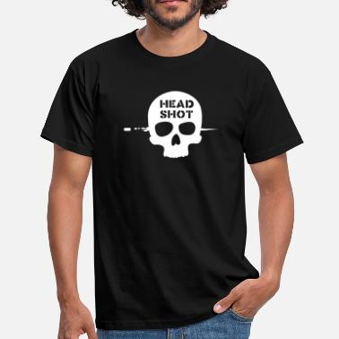 Head Shot head shot - Mannen T-shirt