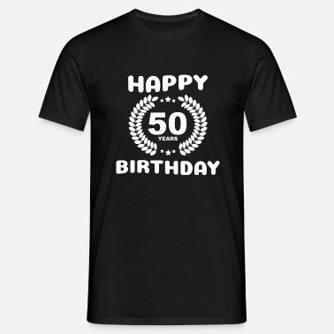 Buon Compleanno 50 Anni Maglietta Premium Uomo Spreadshirt