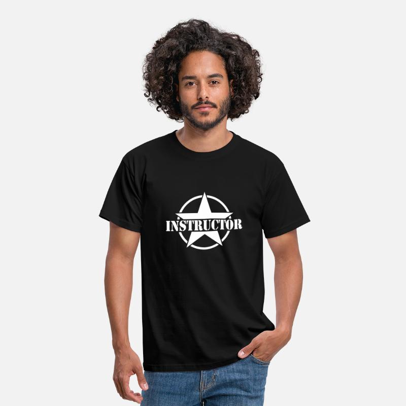 Instructores De Baile Camisetas - Instructor - Camiseta hombre negro