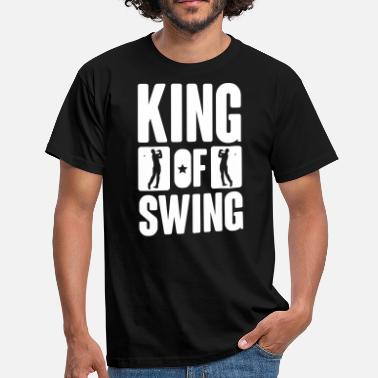 Golf King of swing - Golf - T-shirt Homme