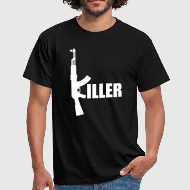 Killer Gun | Waffe | Gewehr | Wapon - Men's T-Shirt
