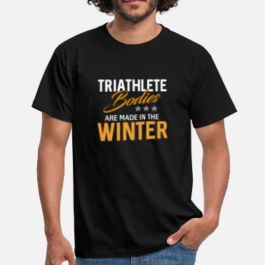 Spore Triathlon T-shirt · · · triathlète triathlète Spor - T-shirt Homme