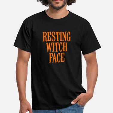 Cheap Trick Resting Witch Face Orange - Camiseta hombre