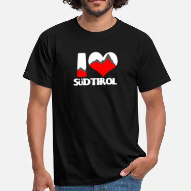 Südtiroler I Love Südtirol Shirt - Südtirol Gift - Men's T-Shirt