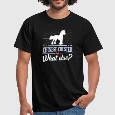Chinese Crested Dog what else? Chinese Crested - Men's T-Shirt