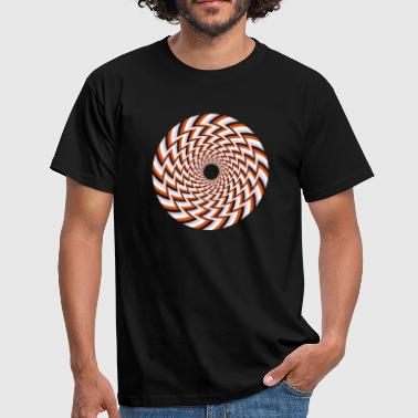 Optical Illusion 32A - Men's T-Shirt