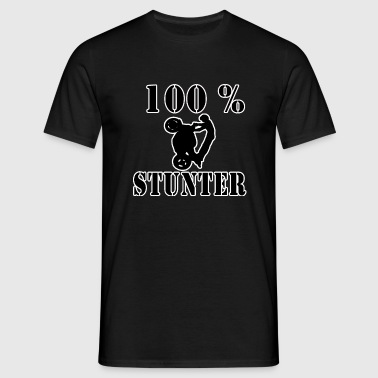 100_stunter_blanc_copie - T-shirt Homme