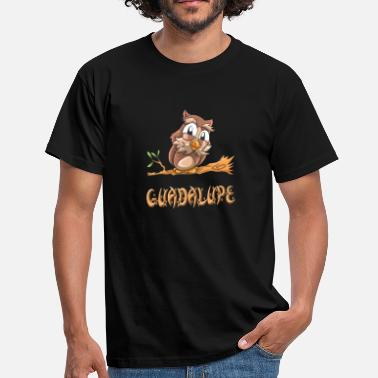 Guadalupe búho Guadalupe - Camiseta hombre