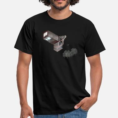 Solitary Prora Solitary Collage - Men's T-Shirt