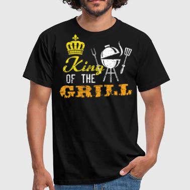 Grill Utensils King of the grill - Men's T-Shirt