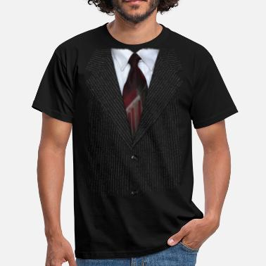 Spreadshirt 15 Year Best Selling Designs suit v2 - Männer T-Shirt
