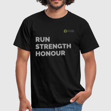 RUN with Strength and Honour - Men's T-Shirt