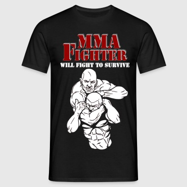 mma_fighter4 - Männer T-Shirt