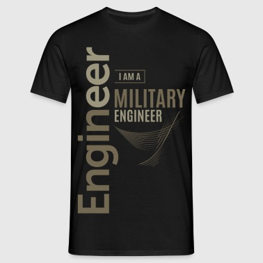 Military Engineer - Men's T-Shirt