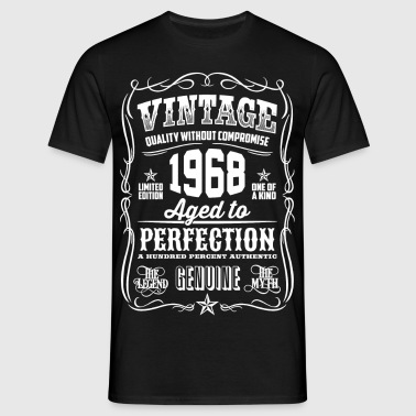 1968 Aged to Perfection White print - Camiseta hombre
