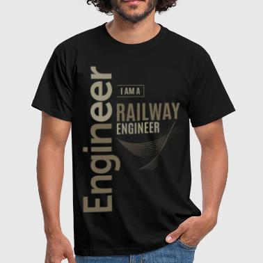 Railway Engineering Railway Engineer - Men's T-Shirt