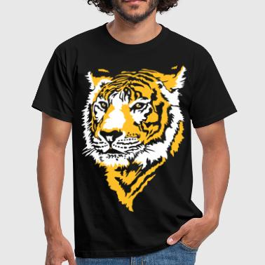 Tiger Stripes Tiger head - Men's T-Shirt