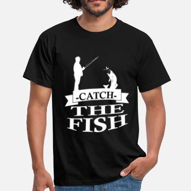 Walleye Fishing angler - Men's T-Shirt