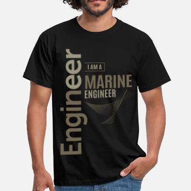 Marine Engineer Marine Engineer - Men's T-Shirt