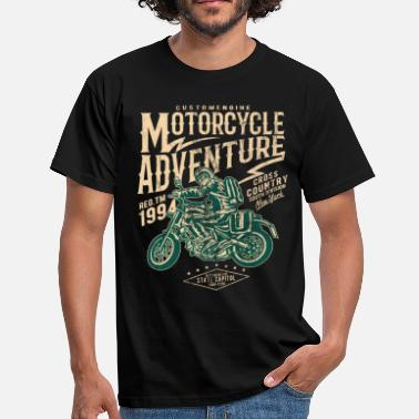 Motorcycle Adventure MOTORCYCLE ADVENTURE - MOTORCYCLE BIKER SHIRT MOTIV - Men's T-Shirt