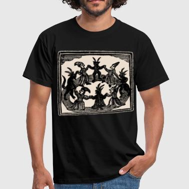 Witches Circle Dance - Männer T-Shirt