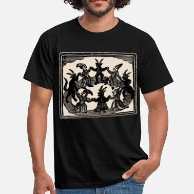 Sabbath Witches Circle Dance - Männer T-Shirt
