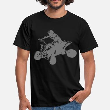 quadracer - T-shirt herr