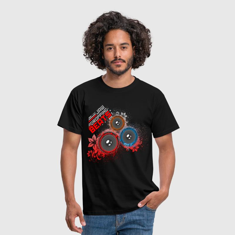 Jaw Dropping Beats DJ - Men's T-Shirt