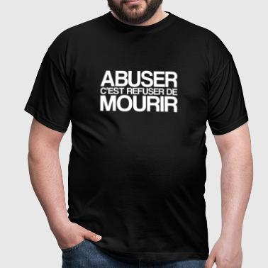 ABUSER - T-shirt Homme